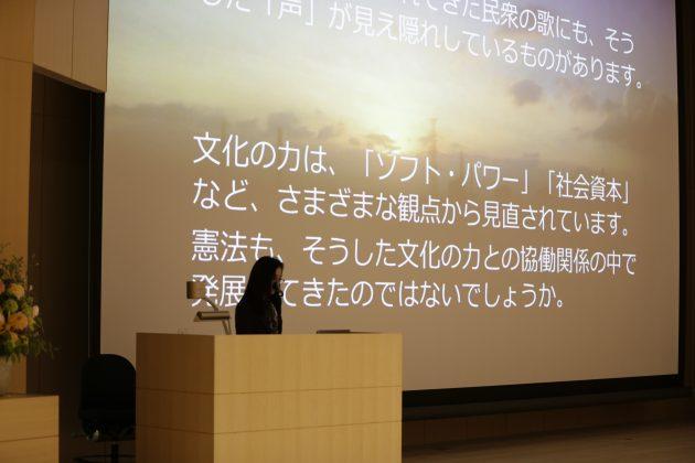 全国憲法研究会主催 憲法記念講演会 講演の模様2
